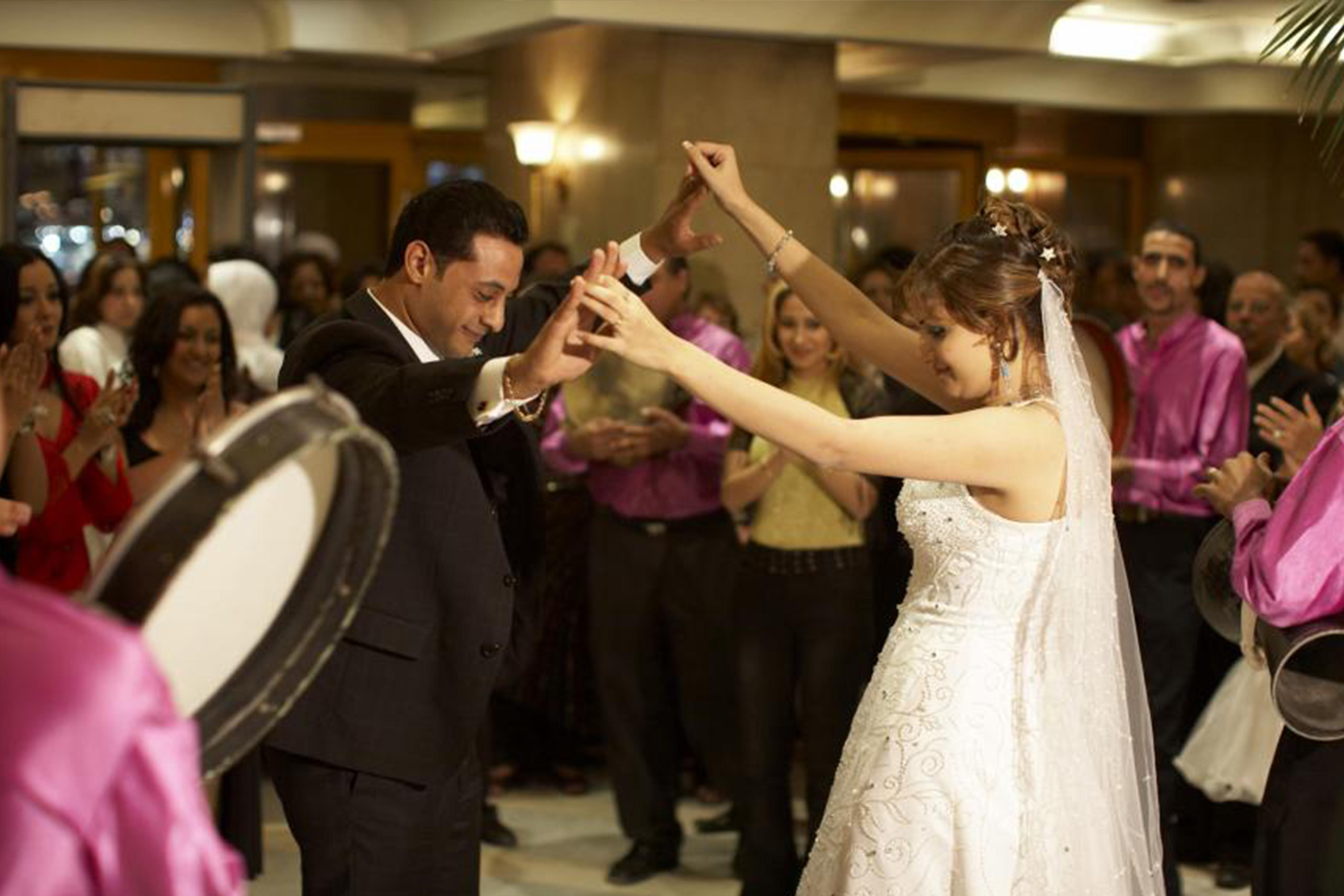 photo d'un mariage egyptien