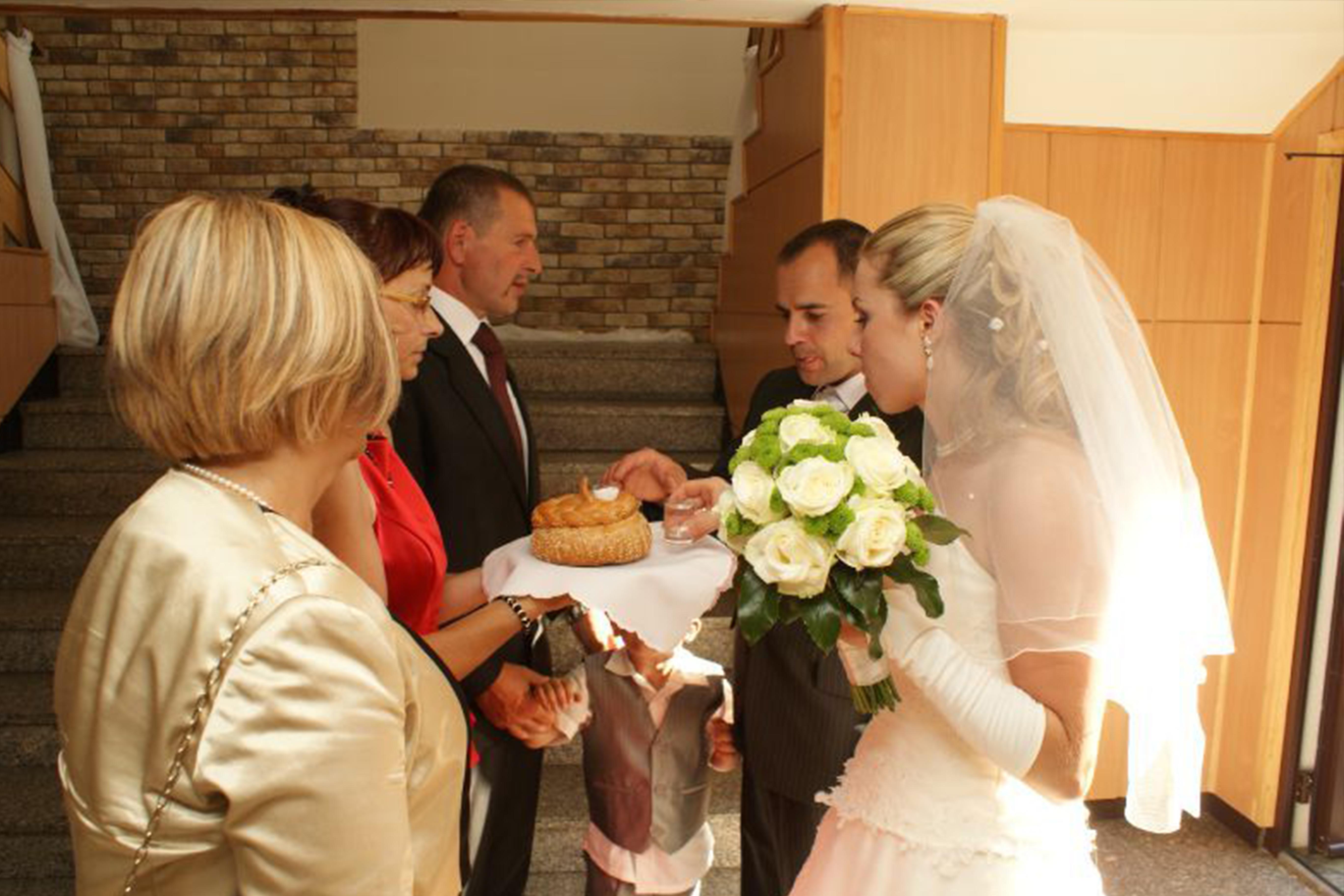 photo d'un mariage polonais