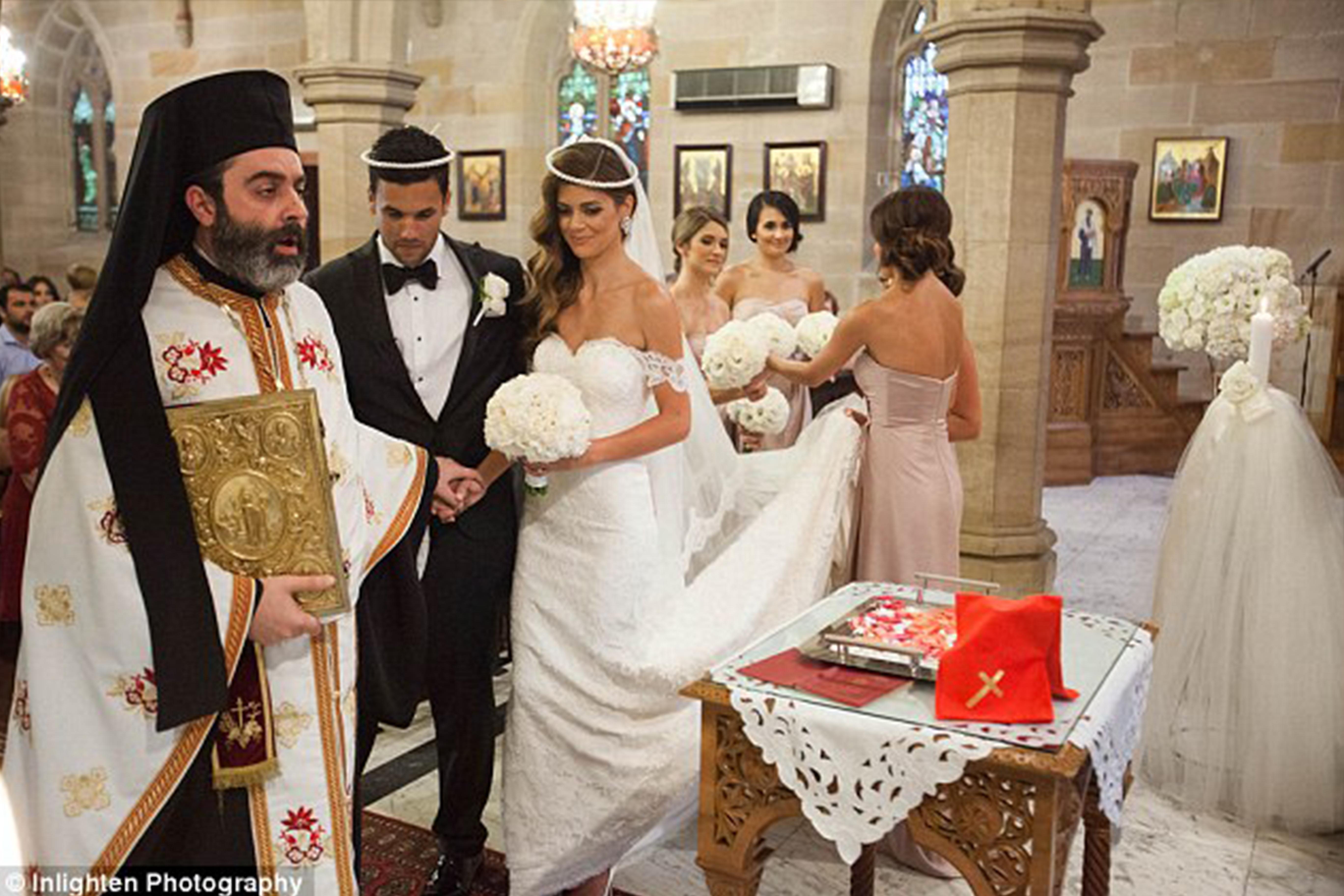 photo d'un mariage traditionnel grec