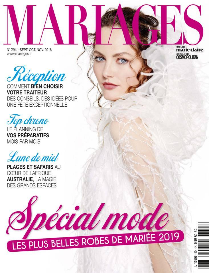 couverture du magazine Mariages