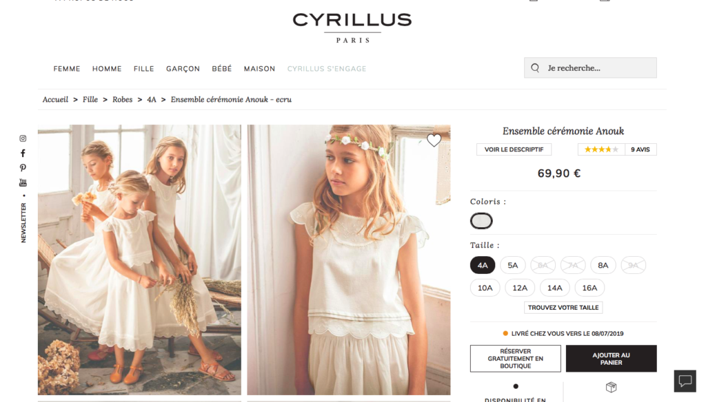 Site de Cyrillus