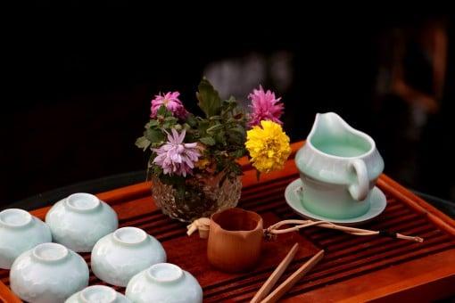 cérémonie du thé mariage vietnam