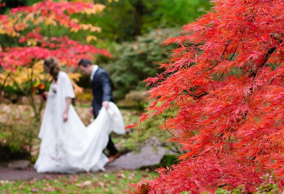 mariage automne hiver