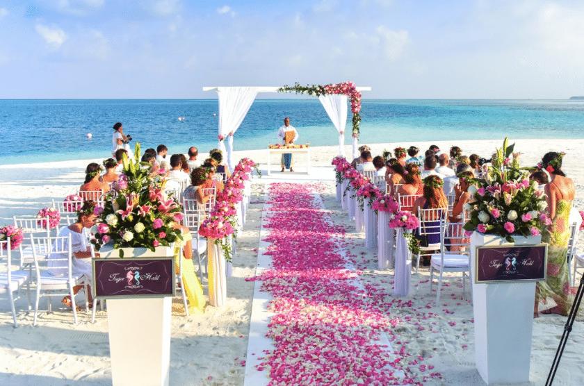 mariage mer océan