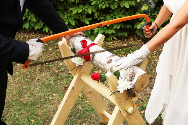tradition mariage allemand buche