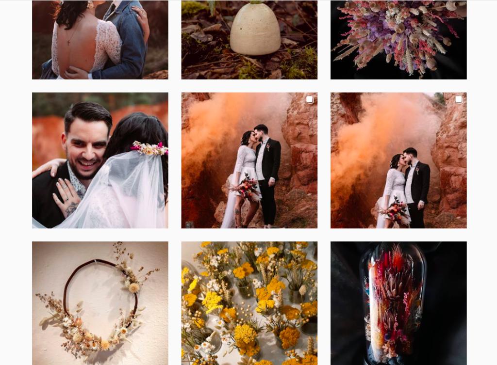 fleuristes de mariage fleurs séchées